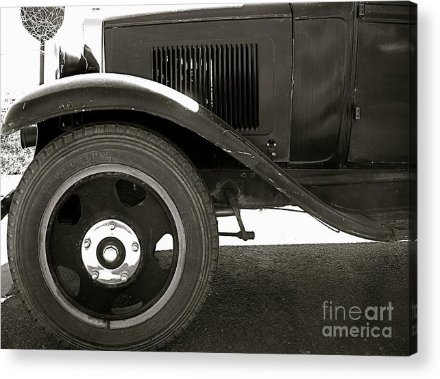 Car Acrylic Print featuring the photograph Timeless by Amy Strong