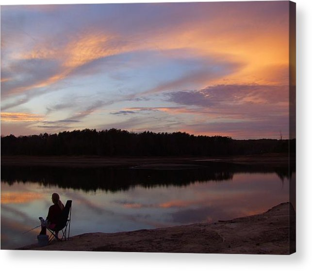 Photographs Acrylic Print featuring the photograph Time Well Spent by Lee Plate