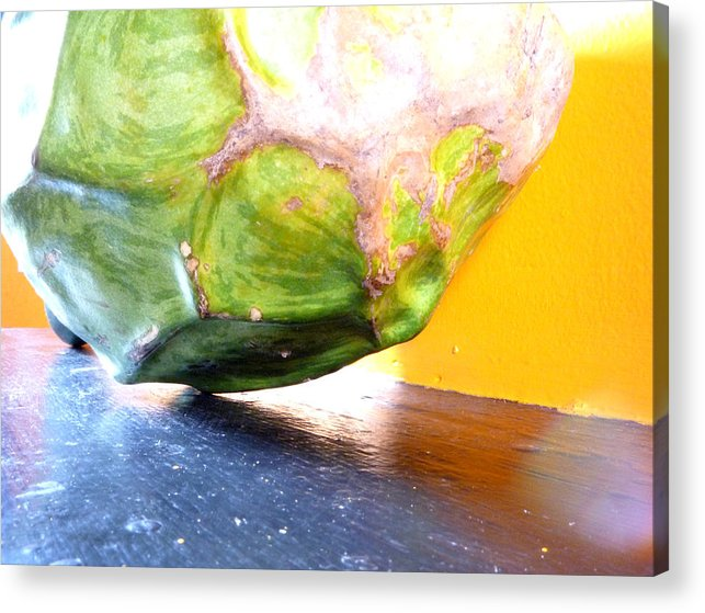 Gourd Acrylic Print featuring the photograph Gourd I by Raven Creature