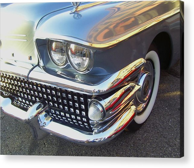 Beautiful Acrylic Print featuring the photograph Miles Of Chrome by Randall Easterling