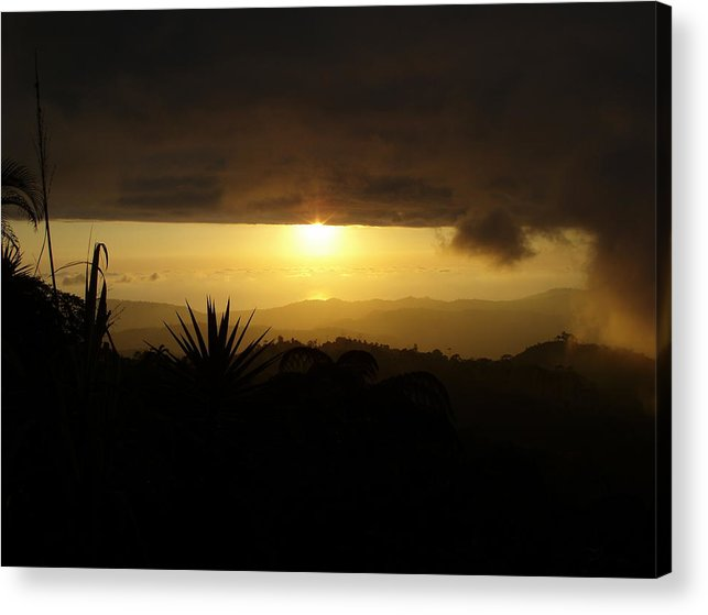 Sunsets Acrylic Print featuring the photograph Summer Sun by Gregory Young