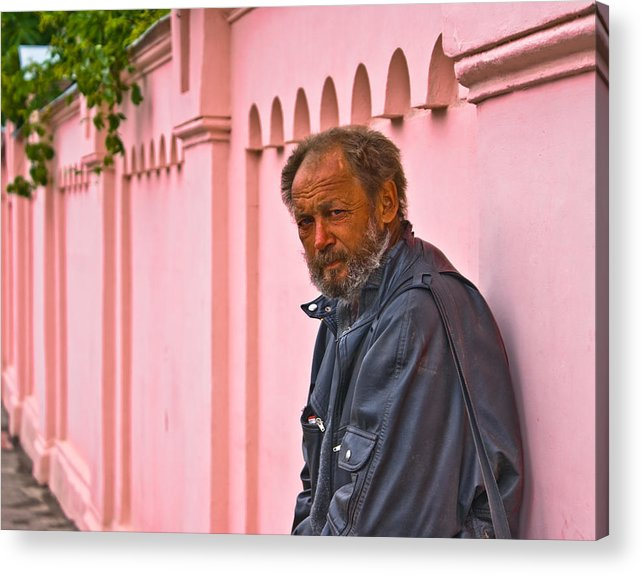 Portrait Acrylic Print featuring the photograph When I Passed By by Vadim Grabbe
