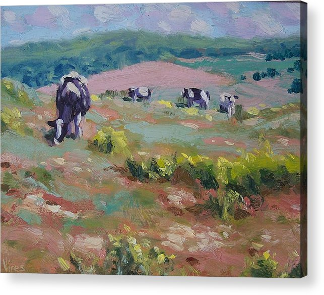 Oil On Canvas Acrylic Print featuring the painting Life Is Good by Michael Vires