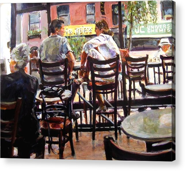 2006 Acrylic Print featuring the painting Ny Spice by Chuck Berk