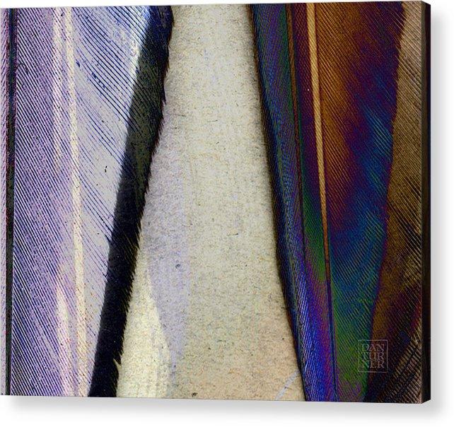Atlantic Duck Acrylic Print featuring the digital art Atlantic Duck by Dan Turner