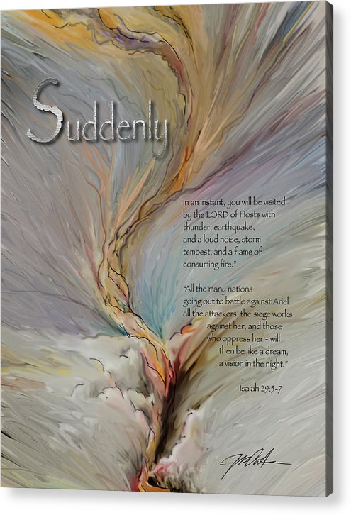 Suddenly the LORD by Ron Cantrell