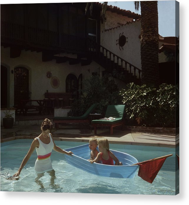 Laguna Beach Acrylic Print featuring the photograph Laguna Beach Home by Slim Aarons