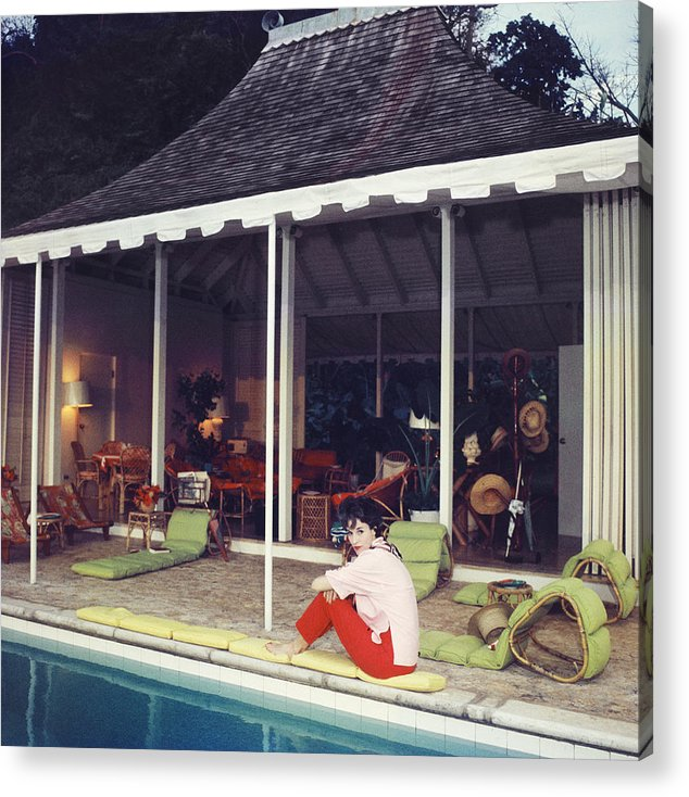 Babe Paley Acrylic Print featuring the photograph Babe Paley by Slim Aarons