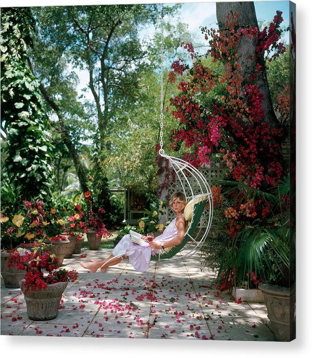 Barbados Acrylic Print featuring the photograph Barbados Bliss by Slim Aarons