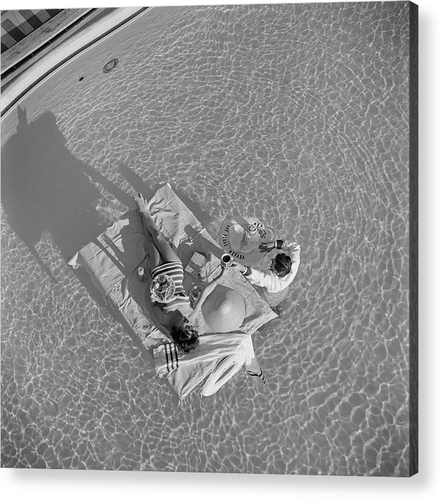 People Acrylic Print featuring the photograph Las Vegas Luxury by Slim Aarons