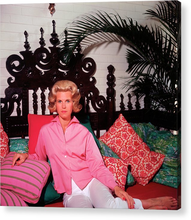 People Acrylic Print featuring the photograph Princess Darenberg by Slim Aarons