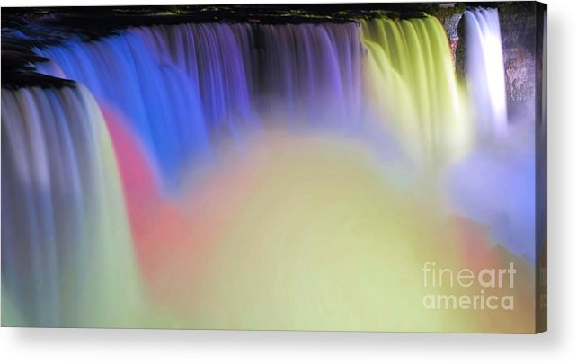 Niagara Acrylic Print featuring the photograph Abstract Falls by Kathleen Struckle