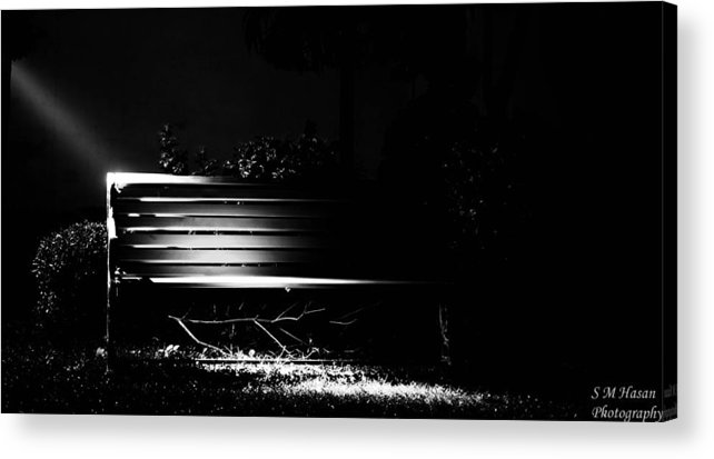 Acrylic Print featuring the photograph Light by S M Hasan