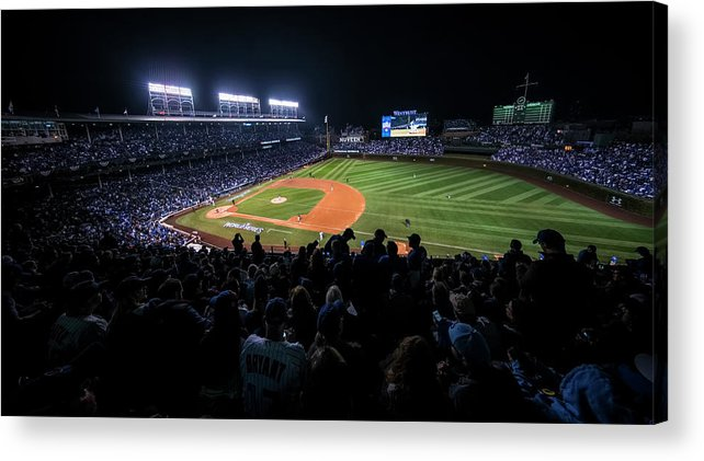Animal Acrylic Print featuring the photograph Mlb Oct 29 World Series - Game 4 - by Icon Sportswire