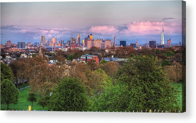 Outdoors Acrylic Print featuring the photograph Primrose Hill by Esslingerphoto.com