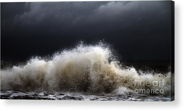 Abstract Acrylic Print featuring the photograph My Brighter Side of Darkness by Stelios Kleanthous