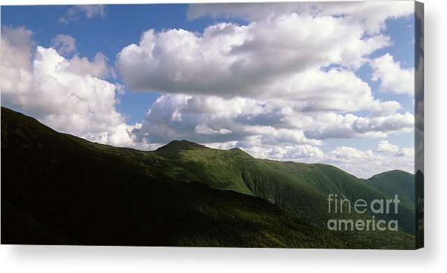 Hike Acrylic Print featuring the photograph Presidential Range - White Mountains New Hampshire USA by Erin Paul Donovan
