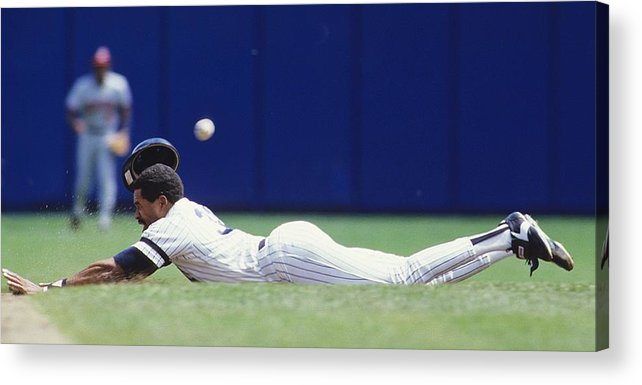 1980-1989 Acrylic Print featuring the photograph Dave Winfield by Ronald C. Modra/sports Imagery