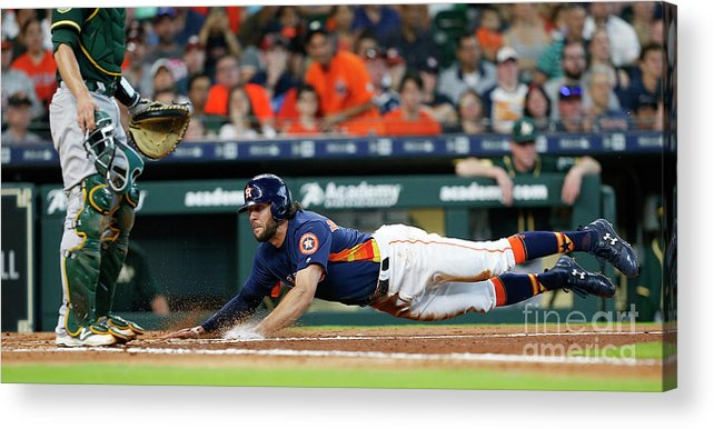 People Acrylic Print featuring the photograph Jake Marisnick by Bob Levey