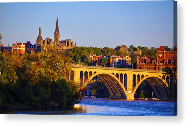 Georgetown Acrylic Print featuring the photograph Georgetown by Mitch Cat