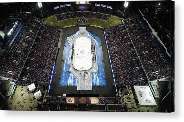 National Hockey League Acrylic Print featuring the photograph 2018 Coors Light Nhl Stadium Series - by Nicole Abbett