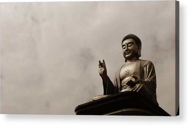 Tranquility Acrylic Print featuring the photograph Monument by Welcome To Buy My Photos