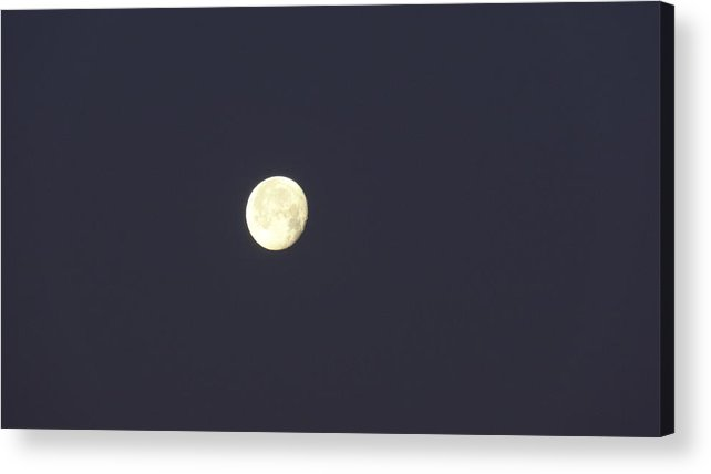 Full Moon Acrylic Print featuring the photograph Full Moon by Jessica Cruz