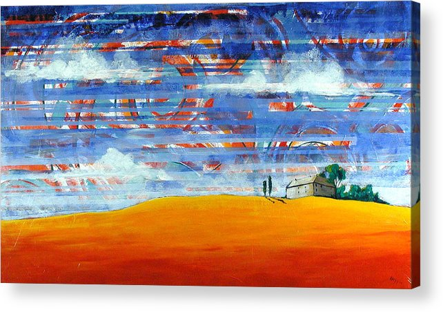 Landscape Acrylic Print featuring the painting Aurora by Rollin Kocsis