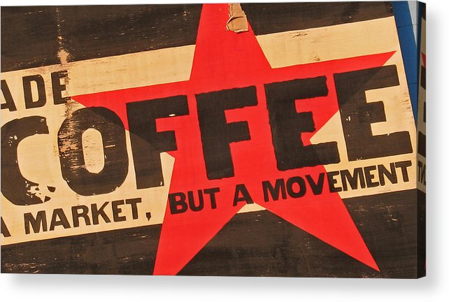 Coffee Acrylic Print featuring the photograph Coffee by Gary Everson