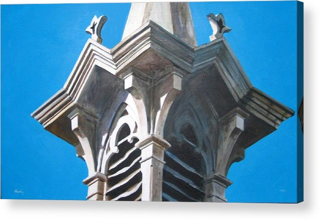 Realistic Acrylic Print featuring the painting Epilogue by William Brody
