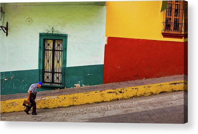 Man Acrylic Print featuring the photograph Hard Knock Life by Skip Hunt