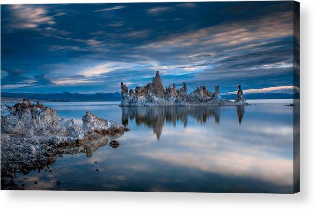 Mono Lake Acrylic Print featuring the photograph Mono Lake Tufas by Ralph Vazquez