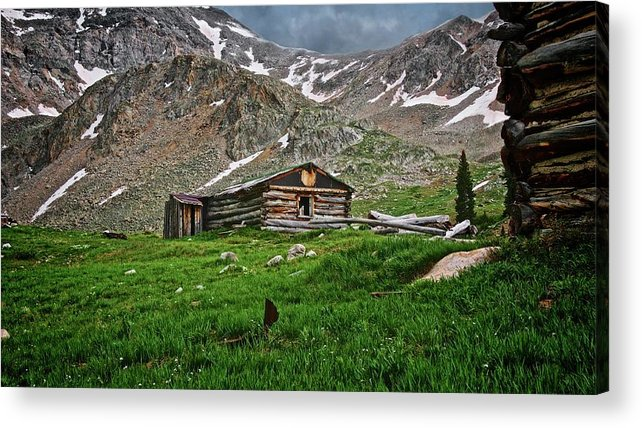Nature Acrylic Print featuring the photograph Mother Nature's Reclamation Process, by Zayne Diamond Photographic