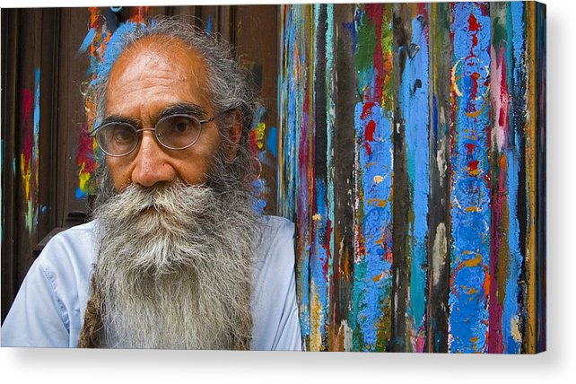 Architecture Acrylic Print featuring the photograph Orizaba Painter by Skip Hunt