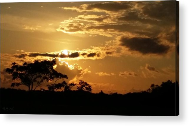 Sunrise Acrylic Print featuring the photograph Sunrise Over Fort Salonga5 by Rob Hans
