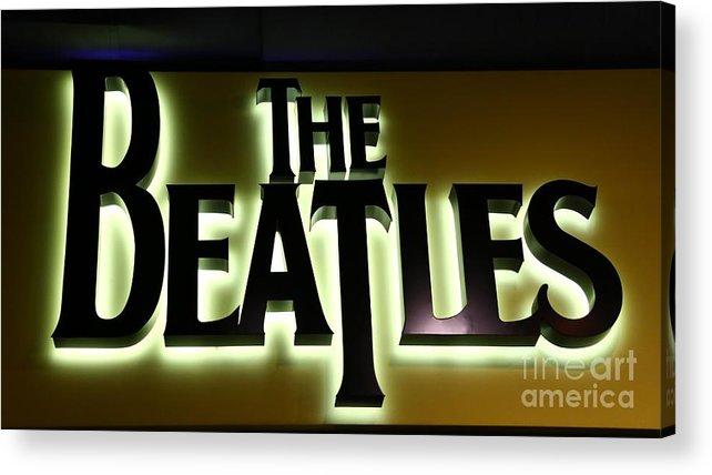 Beatles Acrylic Print featuring the photograph The Beatles by Douglas Sacha