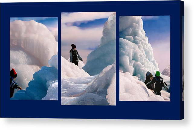 Landscape Acrylic Print featuring the photograph The Explorers by Steve Karol