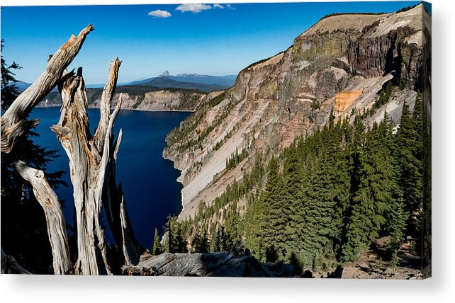 Landscape Acrylic Print featuring the photograph Crater Lake, Oregon by Mark Miller