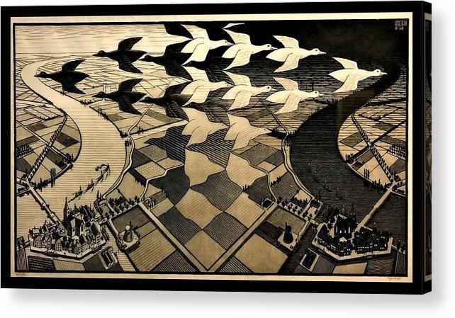Maurits Cornelis Escher Acrylic Print featuring the photograph Escher 116 by Rob Hans