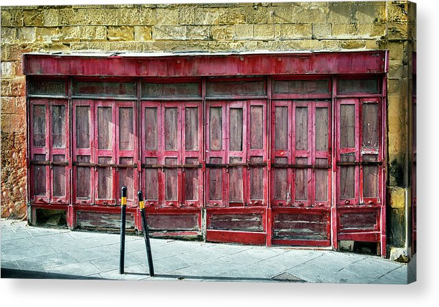 Finance And Economy Acrylic Print featuring the photograph Old Store Front by Foottoo