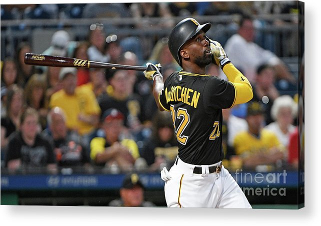People Acrylic Print featuring the photograph Andrew Mccutchen by Justin Berl