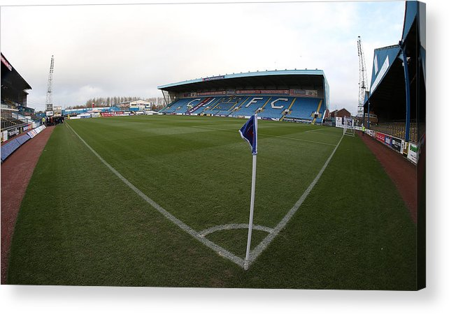 England Acrylic Print featuring the photograph Carlisle United v Northampton Town - Sky Bet League Two by Pete Norton