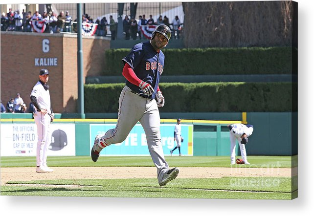 People Acrylic Print featuring the photograph Pablo Sandoval by Leon Halip
