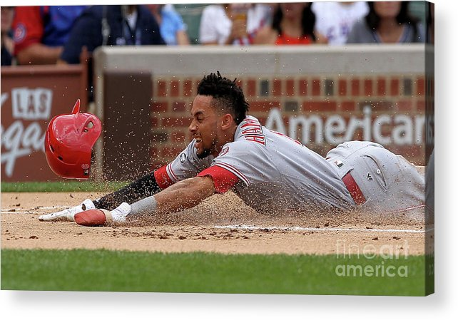Three Quarter Length Acrylic Print featuring the photograph Billy Hamilton by Dylan Buell