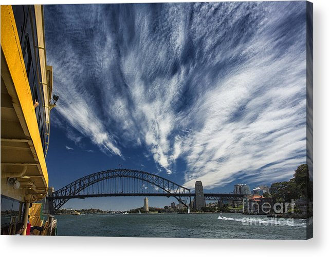 Sydney Harbour Acrylic Print featuring the photograph Sydney Harbour by Sheila Smart Fine Art Photography