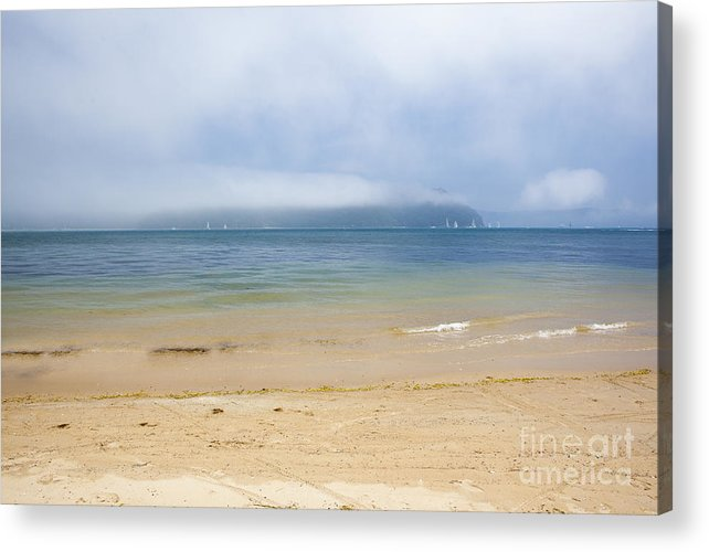 Mist Acrylic Print featuring the photograph Mist over Pittwater by Sheila Smart Fine Art Photography