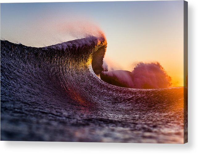 Liquid Acrylic Print featuring the photograph Liquid Sculpture by Ryan Moore