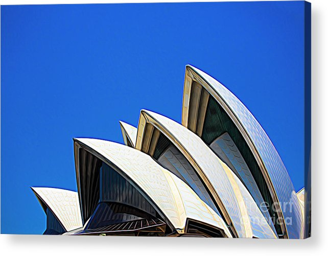 Sydney Opera House Acrylic Print featuring the photograph Sydney Opera House by Sheila Smart Fine Art Photography