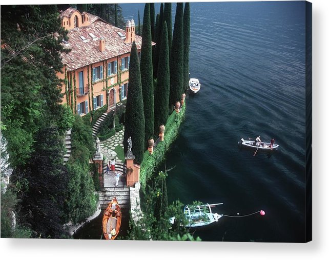 1980-1989 Acrylic Print featuring the photograph Giacomo Montegazza by Slim Aarons
