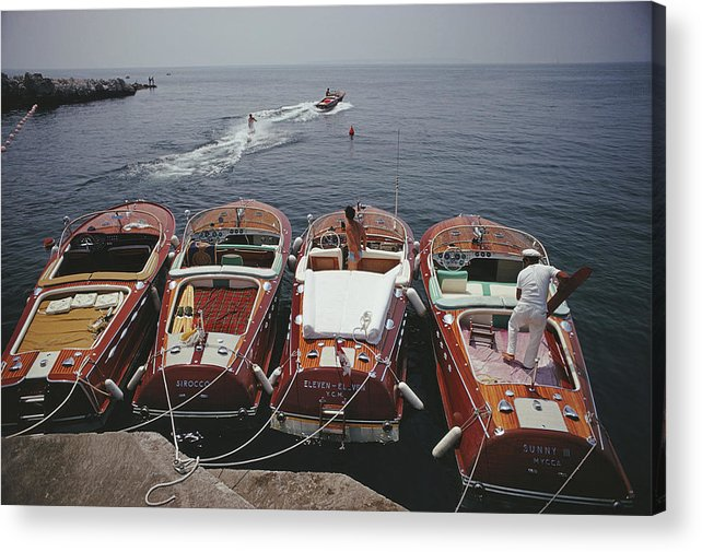 People Acrylic Print featuring the photograph Hotel Du Cap-eden-roc by Slim Aarons